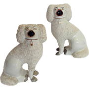 """Pair of Staffordshire Dogs 7"""""""