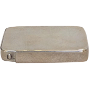 Pill Box Sliding Sterling