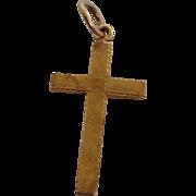 Small Gold Cross