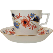 Beaumont Royal Crown Derby Breakfast Cup and Saucer