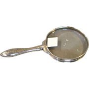 Gorham Magnifying Glass Sterling Acid Etched