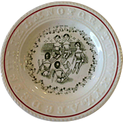 Wood Dolls ABC Sign Language Plate