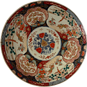 Imari Charger Japan Circa Early 1900's