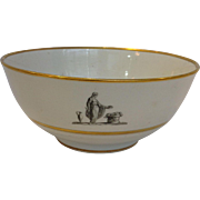 Greek Revival Barr Fight & Barr Bowl 6 3/4""