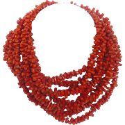 Branch Coral Necklace 100 Inch Natural