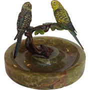Vienna Bronze Parakeets