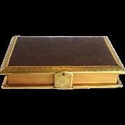 Gilt Brass Bound Prayer Book The Christian Year Circa 1871