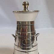 English Sterling Pepper Mill, W Hutton and Sons