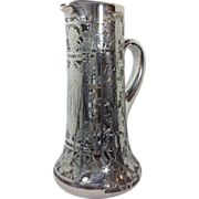 Sterling Silver Grapevines Overlay Pitcher
