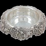 "Sterling Centerpiece Bowl Theodore Starr 13"" Circa 1890"