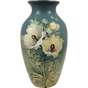 Weller Sarah McLaughlin Reed Floral Vase Painted