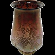 "Steuben Art Glass Vase 6"""
