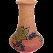 Rookwood Floral Vase by Vera Tischler Circa 1923