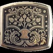 Niello Cigarette Case 900 Silver