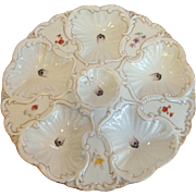 Oyster Plate Austria LS&S Carlsbad