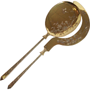 French Ice Cream Set Gilt 950 Silver 19th c.