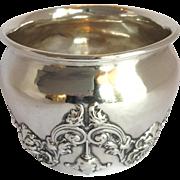 Kerr Bowl Sterling With Raised Gargoyle Design