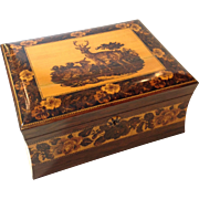 Antique Tunbridge Ware Box