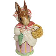 Beatrix Potter's Mrs Rabbit Figurine