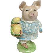 Beatrix Potter's Little Pig Robinson Figurine