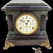 Victorian Seth Thomas Mantle Clock 24 Hour