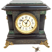 Victorian Seth Thomas Mantle Clock 24 Hour