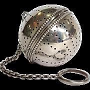 Tea Ball Gorham Sterling Circa 1900