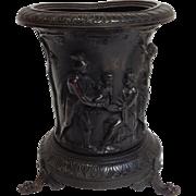 Bronze Classical Figures Jardiniere Antique