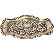 Antique Pin Tray Sterling