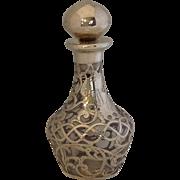 Gorham Overlay Perfume Bottle