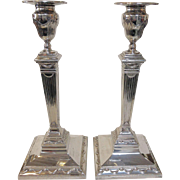 Tiffany Sterling Candlesticks 12""