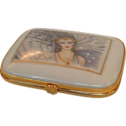 Art Deco Lady French Limoges Box