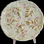 Oyster Plate Haviland Limoges Floral