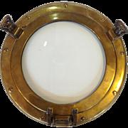"Brass Ship Porthole 12"""
