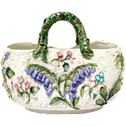 Ceramic Flower Basket Vase