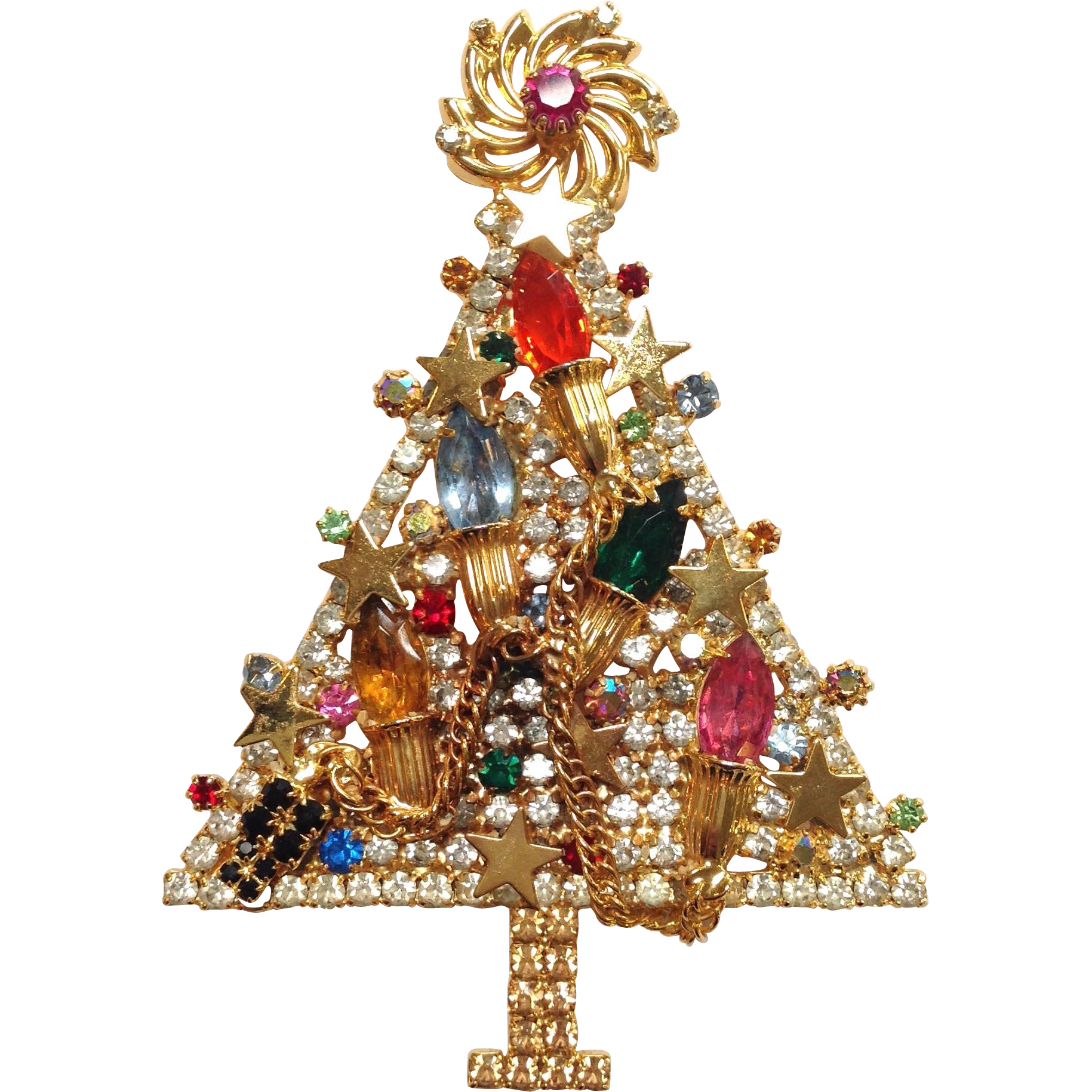 Large Christmas Tree: Limited Edition Large Christmas Tree Pin From