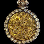 Rare Vintage Paris Souvenir Pin