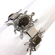 Mexican Silver Turtles Bracelet