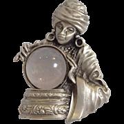 Jonette Jewelry Fortune Teller Pin