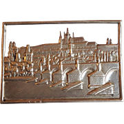 """Prague Sterling Architectural Pin 2½"""""""