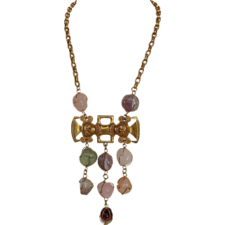 Castlecliff Necklace  Aztec and Nuggets