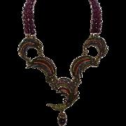 Heidi Daus Hummingbird Multicolor Beaded Necklace