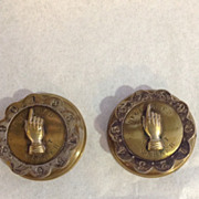 Pair Whist Markers - 19th Century