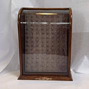 Thimble Display Case Circa 1900
