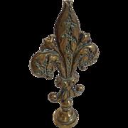 Fleur de Lys Desk Seal 19th Century