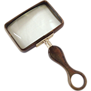 English Horn Magnifying Glass