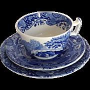 Copeland Spode Italian Tea Cup, Plate, Saucer Set