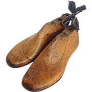 Shoe Lasts Child's Wooden English 19th C.