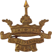 British Royal Naval Division WWI Cap Badge, Anson Battalion