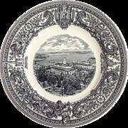 "US Naval Academy Plate ""Academic Buildings"" Circa 1932"